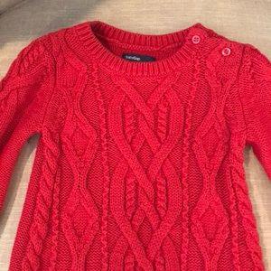 GAP Dresses - Baby GAP Girl's Sweater Dress 6-12 Months